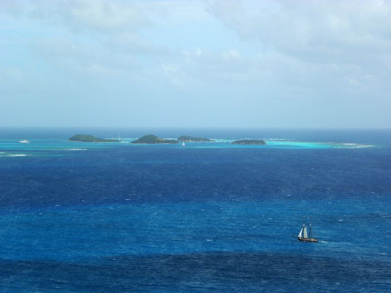 Grenadines TobagoCays de Clifton Fort