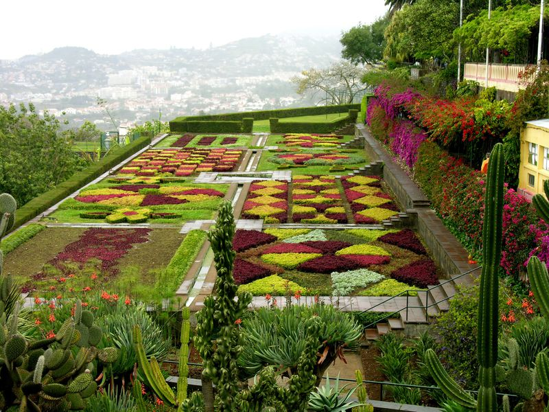 Madere Funchal Jardins Botaniques 2