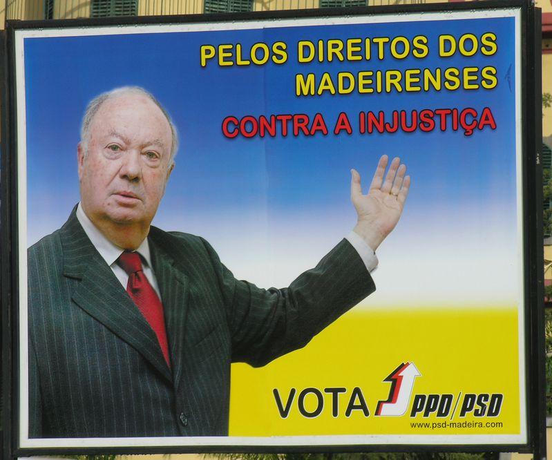 Madere President Alberto Joao Jardim copier