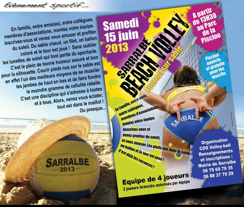 Sports associations sarralbe au fil de l 39 eau for Piscine sarralbe