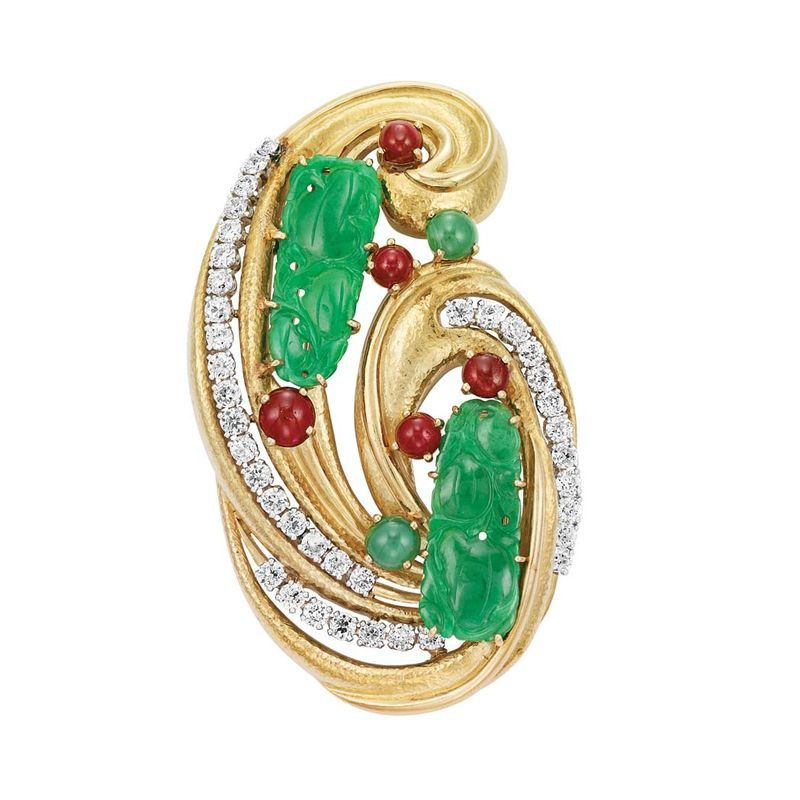 Gold--Platinum--Jade--Diamond-and-Cabochon-Ruby-Clip-Brooch.jpg