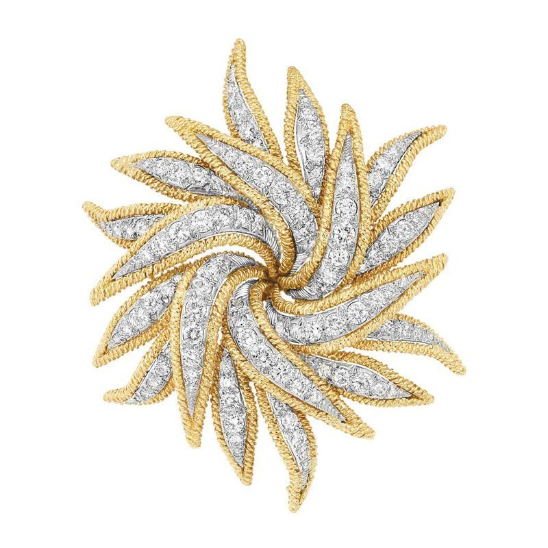 Gold--Platinum-and-Diamond-Clip-Brooch--David-Webb-jpg