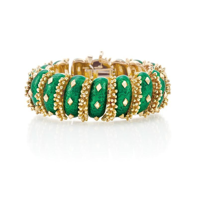 Gold-and-Green-Enamel-Bracelet--David-Webb.jpg