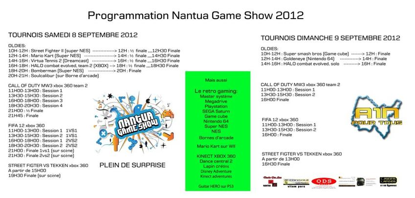 Planning NGS 2012