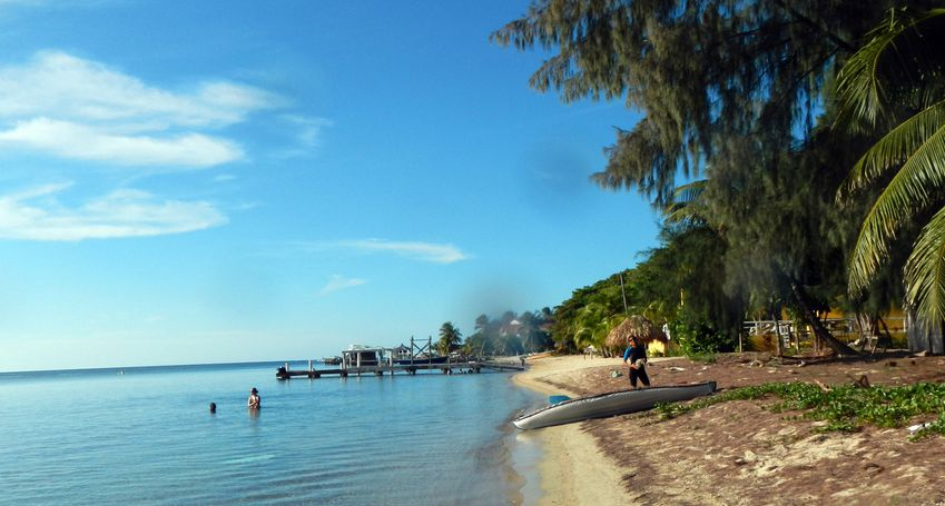 Honduras Roatan WestEnd Beach2 copie