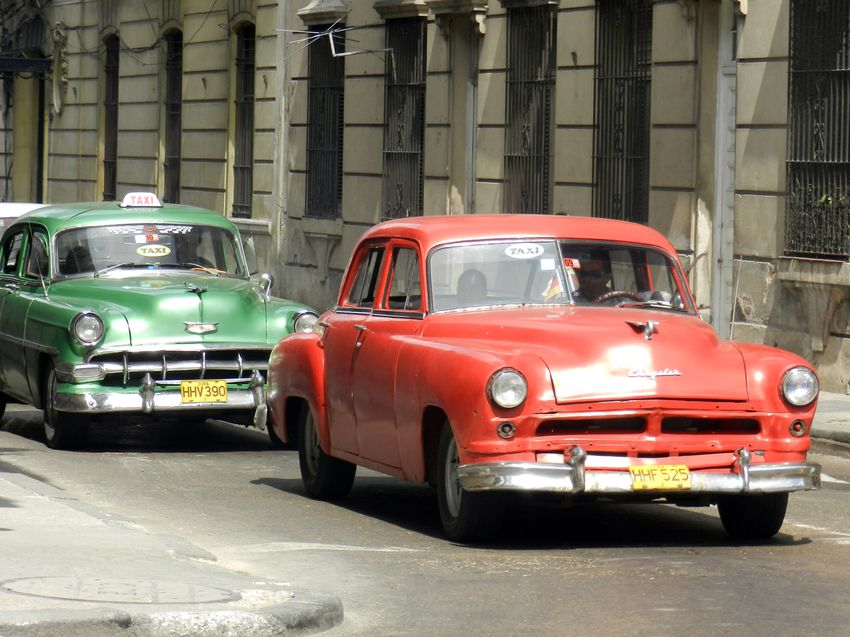 Cuba LaHavane Auto Chrysler Chevrolet copie