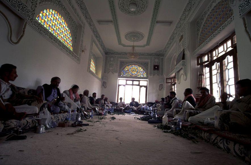 Seance de Qat au Palais