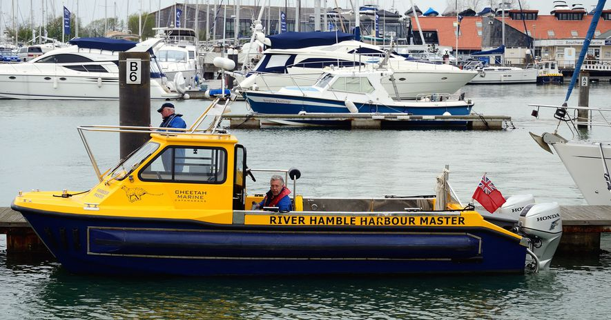 27 Harbour Master, Hamble River