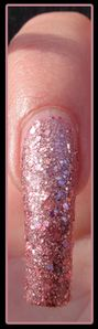 Vernis ongles paillettes