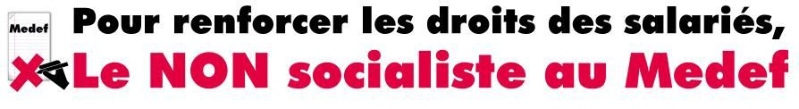 ANI NON Socialiste Medef
