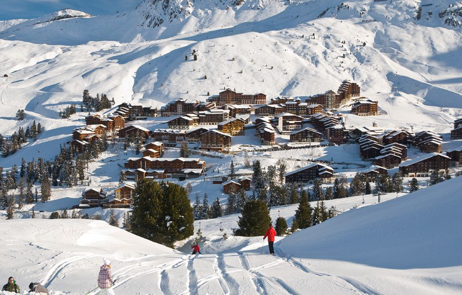 how to get to belle plagne
