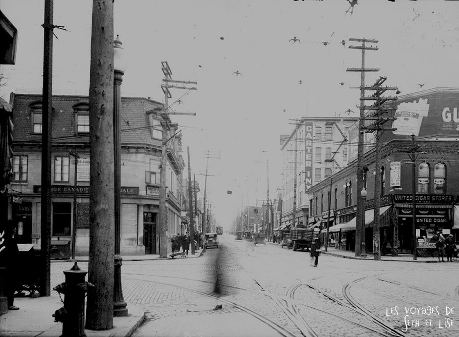 blog canada montreal voyage pvt time travel belle epoque ville urbain evolution changement avant architecture ancien