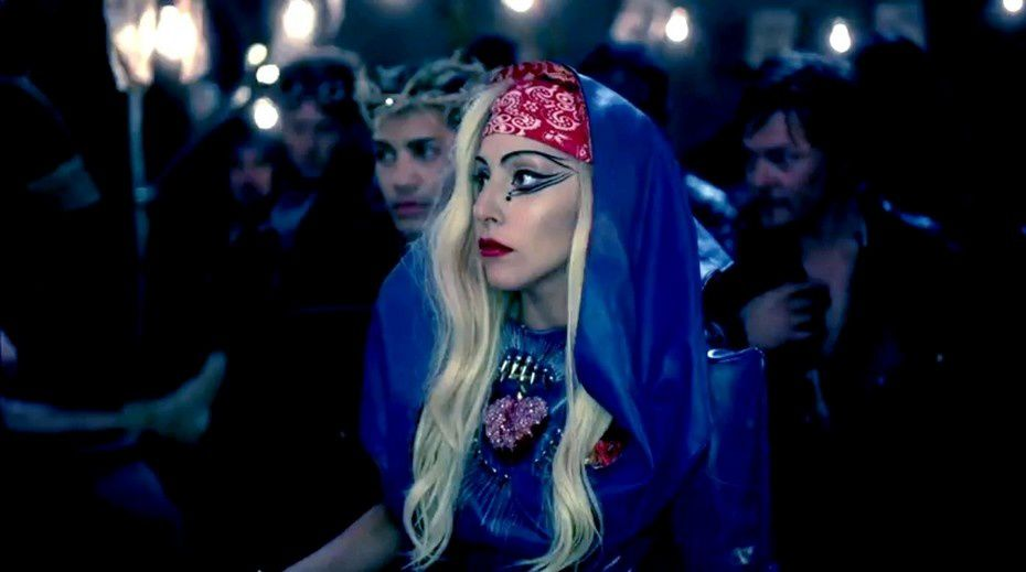 lady gaga judas video stills. lady gaga judas video clip.
