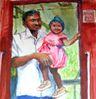 Un papa fier de sa fille