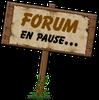 Forum en pause
