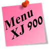 post it rose menu xj900