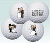 wedding favours.Golf balls