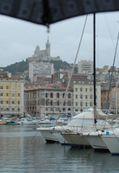 Marseille le vieux port la pluie 1b