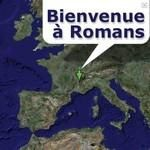 "Voir la carte interactive ""Bienvenue à Romans"""