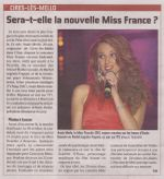 Miss France 2012 Courrier Picard