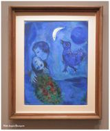 Chagall Le paysage bleu Musee du Luxembourg