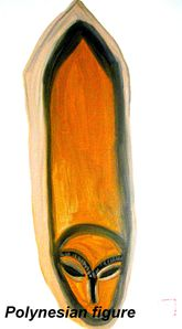 Polynesian figure