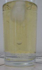 fonte eau douce eau salée 6 verres huile