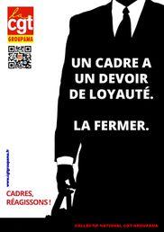 Affiches CGT - Cadre devoir de loyauté Collectif