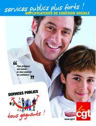 Affiche Service public contrat social