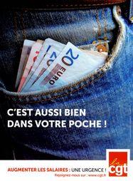 Affiche salaires aussi bien dans votre poche