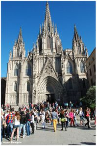 Barcelone cathedrale 1