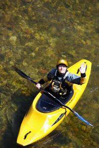Aveyron-kayak sur le Viaur