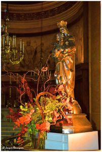 Vierge Eglise St Denys Paris 03