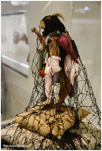Parade ecureuil Les maitres du desordre Musee quai Branly
