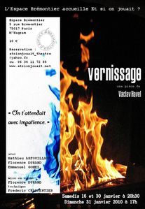 Vernissage - Affiche - janv 2010