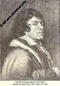 MICHEL, Georges Portrait