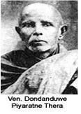 Dodanduwe Piyaratne Thera