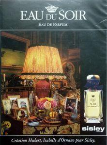 Sisley Eau du soir pub 1994-95