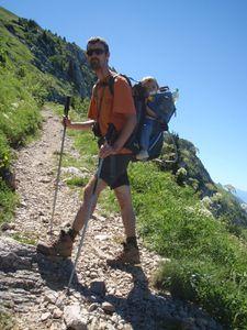 Mont Trélod (voie normale) en famille 4