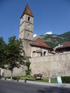 Colmars les Alpes l'église