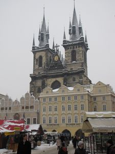 Prague Eglise Tyn