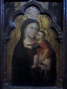 La Vierge à l'Oiseau - Chapelle Saint-François Rennes