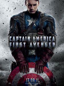 Captain America First Avenger affiche
