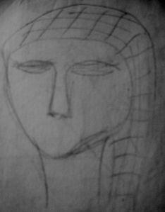 Prehistoric Face