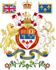 Coat of Arms of Canada rendition svg