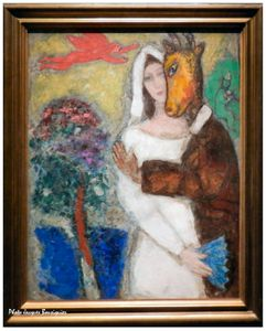 Chagall Songe nuit ete Musee du Luxembourg Paris