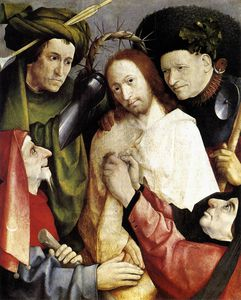Bosch Christ Crowned With Thorns1495-1500