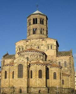 St Austremoine - Issoire - chevet
