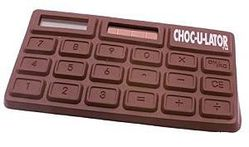 calculatrice chocolat