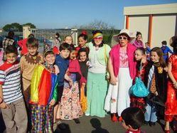 école sainte feugarolles carnaval 2008